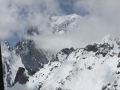 Widok na Monte Bianco z sali