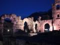 Teatr rzymski w Aoście latem