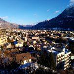 Aosta dinverno vista dallalto unimmagine che mi incanta sempre hellip