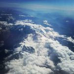 alps from airplane mountains montagna snow summerinmountains summer landscape panoramahellip