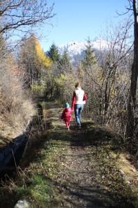 Listopadowy spacer wzdłuż kanału Ru Neuf