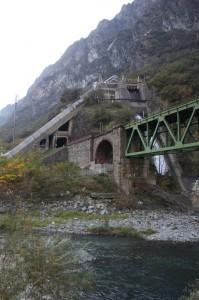 Elektrownia wodna w Dolinie Aosty.