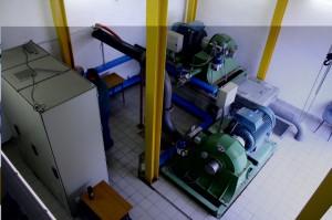 Elektrowania wodna w miejscowości Issogne.