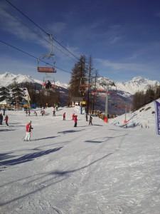 Ośrodek narciarski Pila w Dolinie Aosty