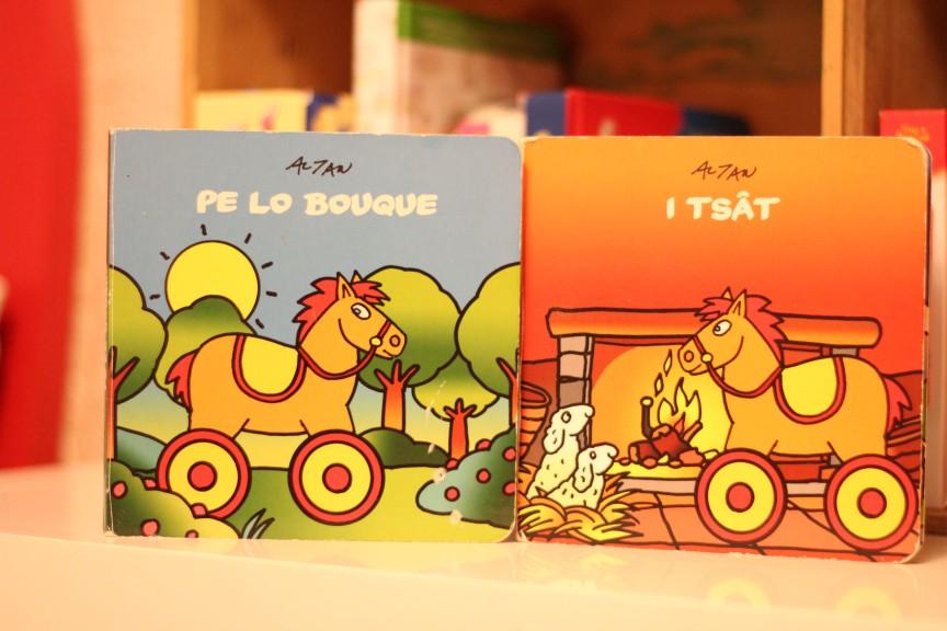 Seria książeczek dla dzieci w języku franko - prowansalskim, której bohaterem jest sympatyczny Tatà.