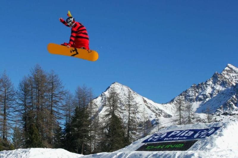 Snowpark Alpy Pila
