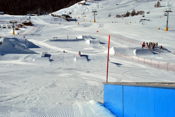 Snowpark w Torgnan.