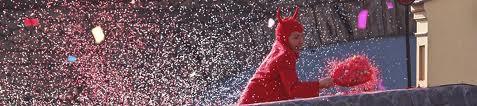 Diabeł, czyli główny bohater karnawału w Pont-Saint-Martin