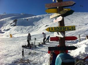 Ośrodek narciaraki La Thuile - La Rosière na granicy włosko - francuskiej