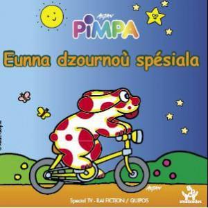 Słynna we Włoszech książeczka dla dzieci o przygodach Pimpy, przełożona na franko - prowansalski