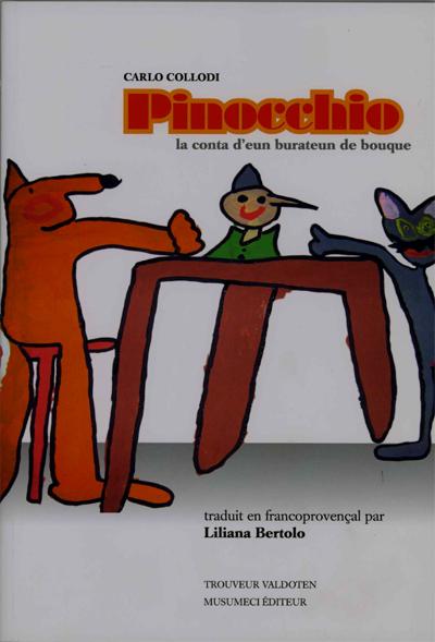 Przygody Pinokia przełożone na franko - prowansalski.