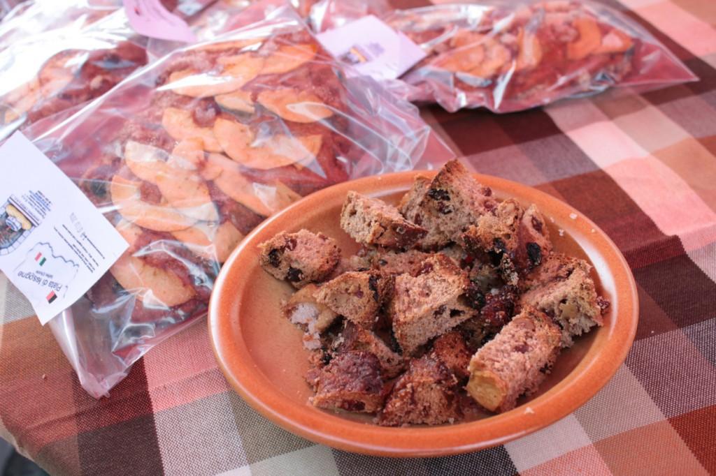 """Słodki chleb """"Piata"""" z Issogne"""