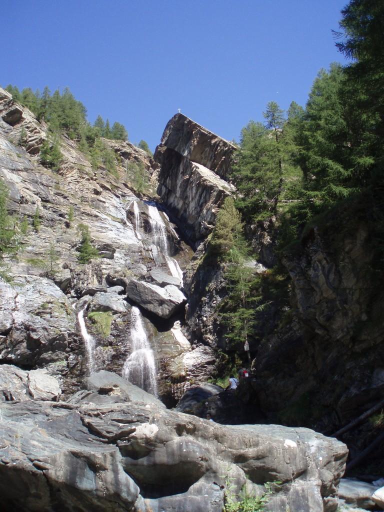 Najwyżej położony wodospad w Lillaz