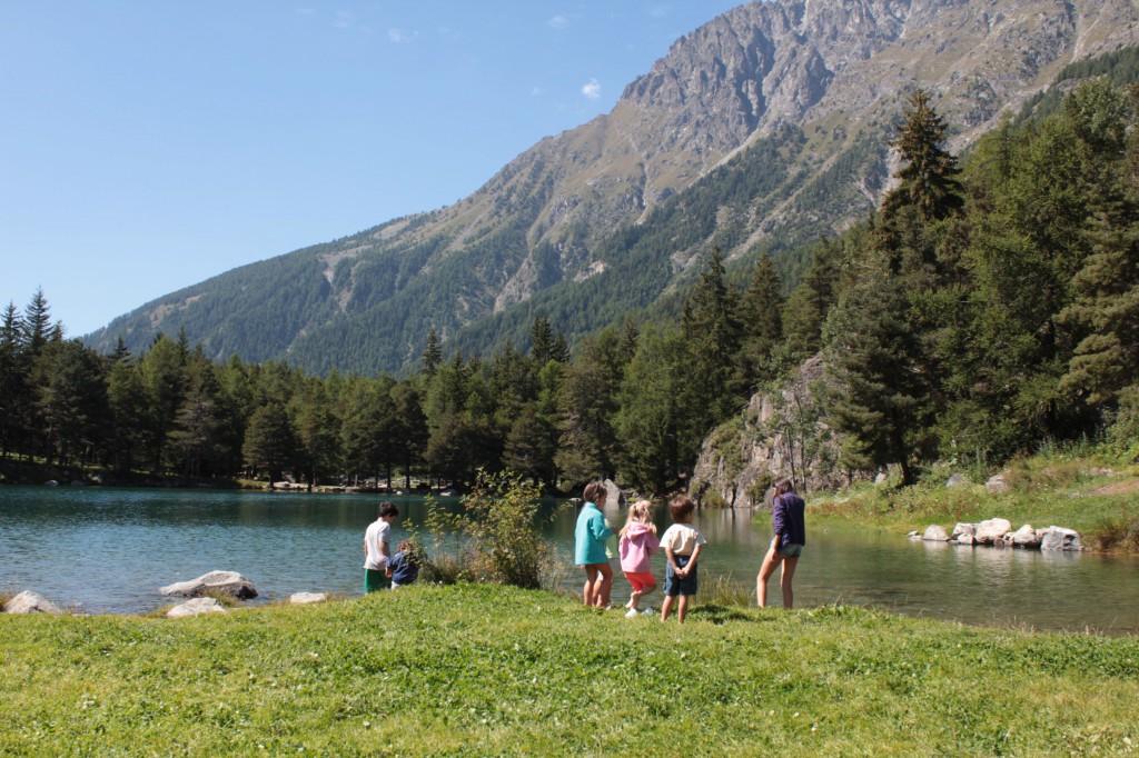Jezioro Lexert na początku września. Idealne miejsce na spędzenie relaksującego dnia