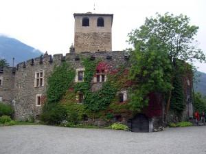 Zamek w Introd