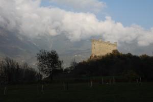 Średniowieczny zamek Ussel w Chatillon
