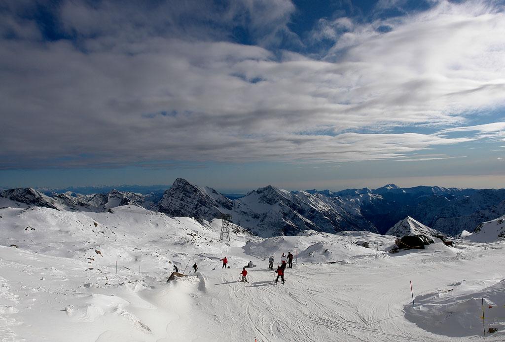 Dolina Ayas w Dolinie Aosty - ośrodek narciarski Monterosa SKI