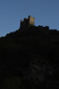 Zamek Ussel Valle Aosta