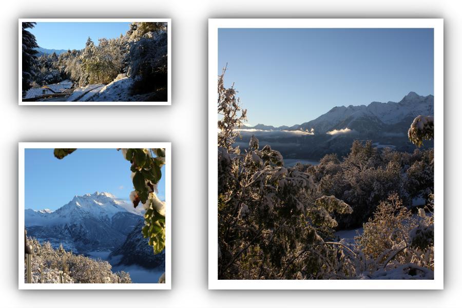 Pierwszy śnieg w Dolinie Aosty 12 października 2012 roku był wielkim zaskoczeniem.