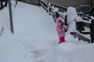 Pierwsze opady śniegu w Dolinie Aosty i pierwsze odśnieżanie