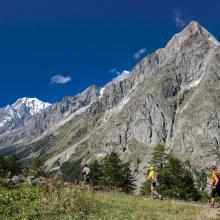Tor des Geants w Val d'Aosta w 2014 roku, dzień 6 w Val Ferret. Autor Enrico Romanzi, Źródło TU