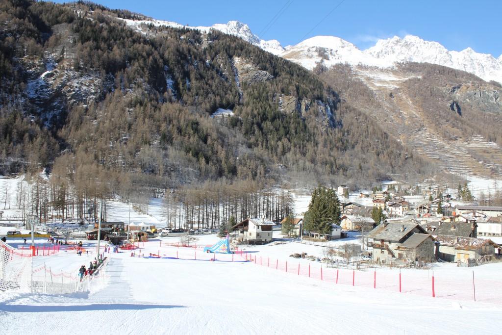 Snowpark w Ollomont