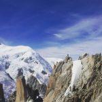 In vetta aiguilledumidi panoramic montblanc alps cablecar alpinism alpinismo savoiahellip