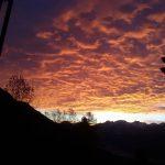 Takie niebo miaam rano w Alpach A si chce wsta!hellip