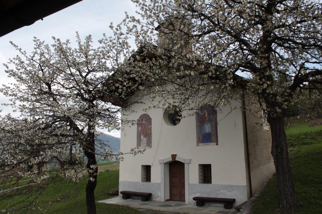 Kaplica Świętego Wawzyńca w Les Combes