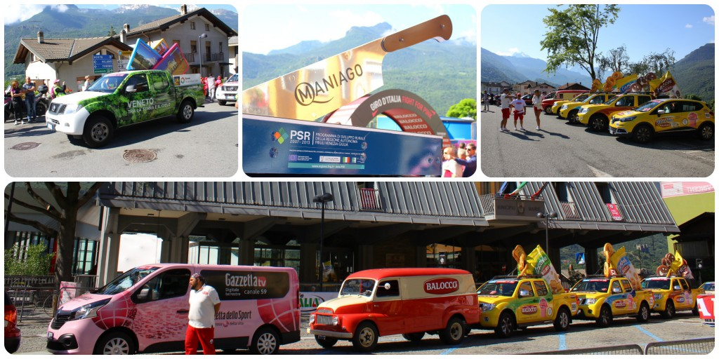 Giro Italia 2015 Saint Vincent karawan