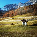 Troch jesieni troch zimy  bionaz gry aostavalley montagna mountainshellip