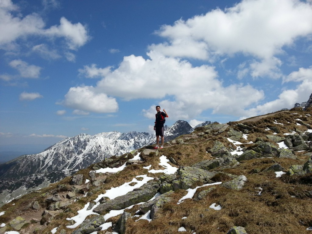 Alex w polskich Tatrach, maj 2015. Archiwum własne.