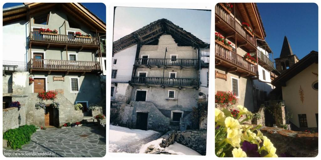 srodkowe zdjęcie jest przed pracami renowacyjnymi, po bokach już odnowiony dom. Po prawej widać również kościół w Buthier.