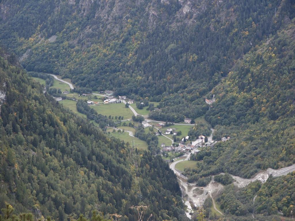 Widok z kolejki do Chmois.