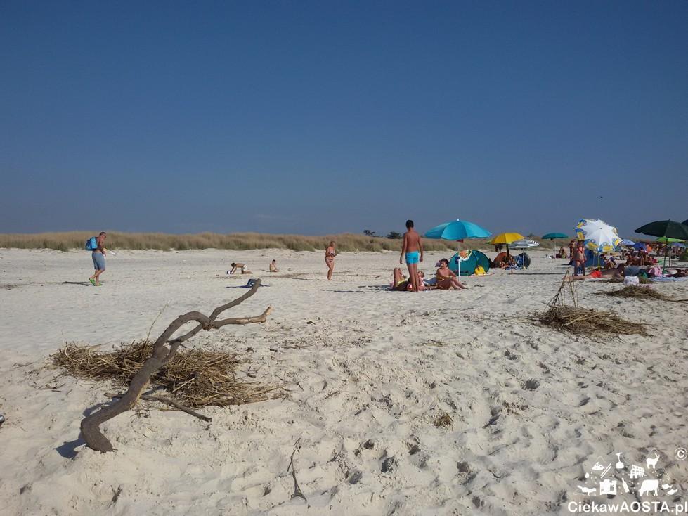 . I kto mi powie, że to spiagge bianche w Toskanii, a nie Bałtyk ;-)?