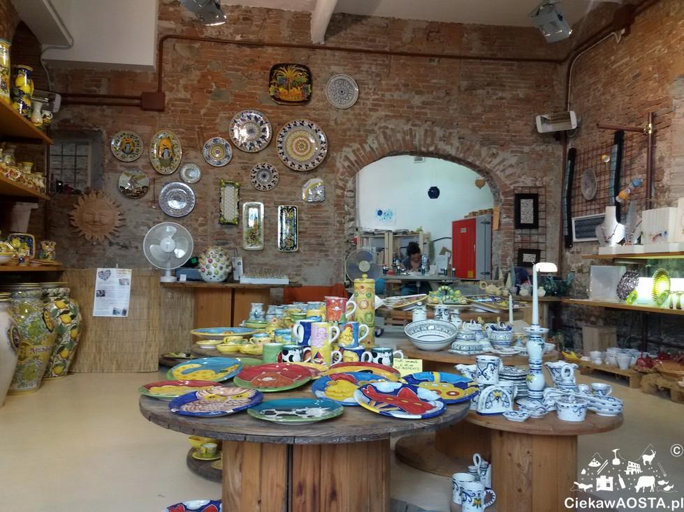 Pracownia ceramiki niedaleko kościoła San Frediano.
