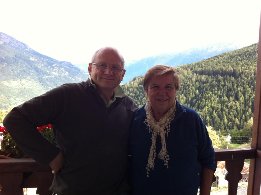 Ugo i Rossana w Buthier.