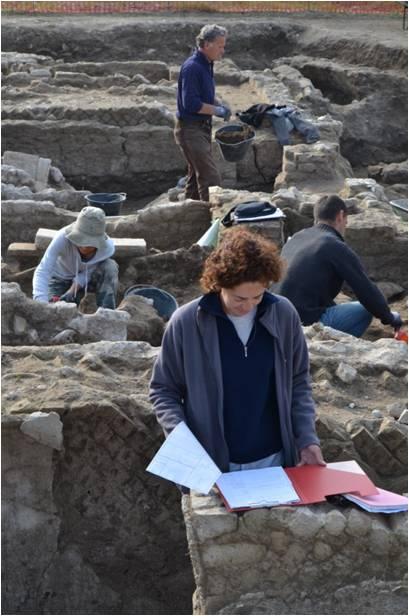 Lucia podczas pracy przy nowej inwestycji w Aoście