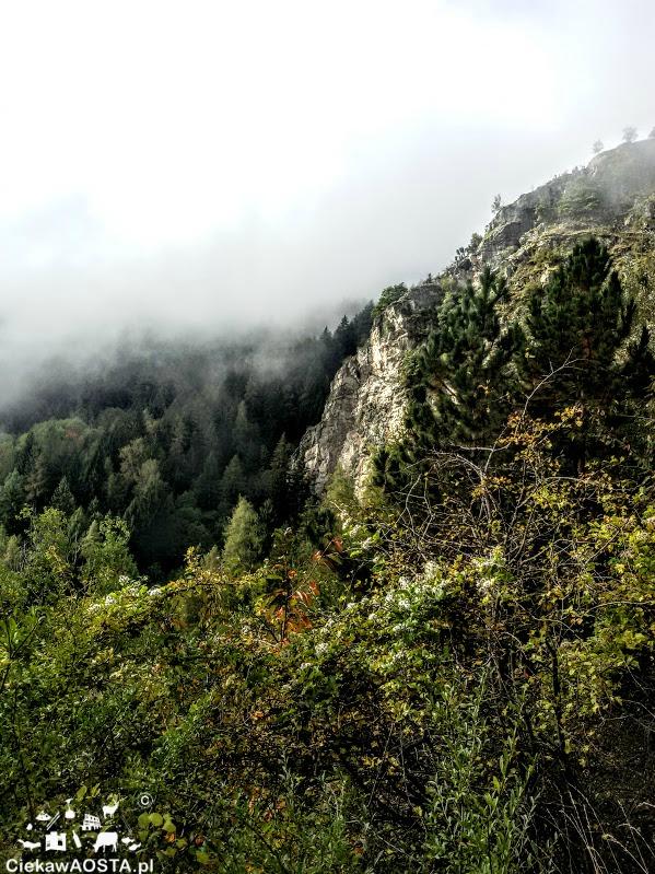 Valle d'Aosta jesienią.