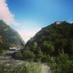 Takie widoki z autostrady we wochy italia italy valleaosta alpshellip