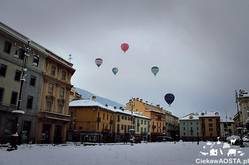 Balony nad Aostą!