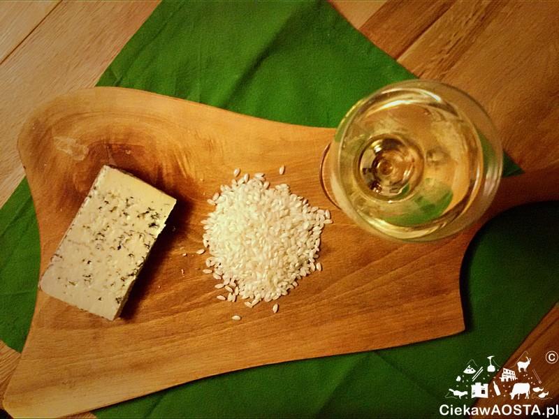 risotto z serem plesniowym2