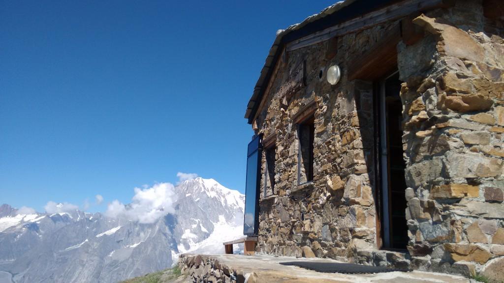 Biwak z widokiem na MOnt Blanc!