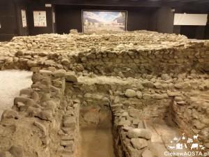 Starożytne nekropolie w Aoście: Area funeraria fuori Porta Decumana