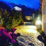 wieczr po ssiedzku chamonix serata evening alps alpi mountains montagnahellip