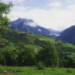 giornata trekking in montagna valledaosta alpi landscape panorama clouds mountainshellip