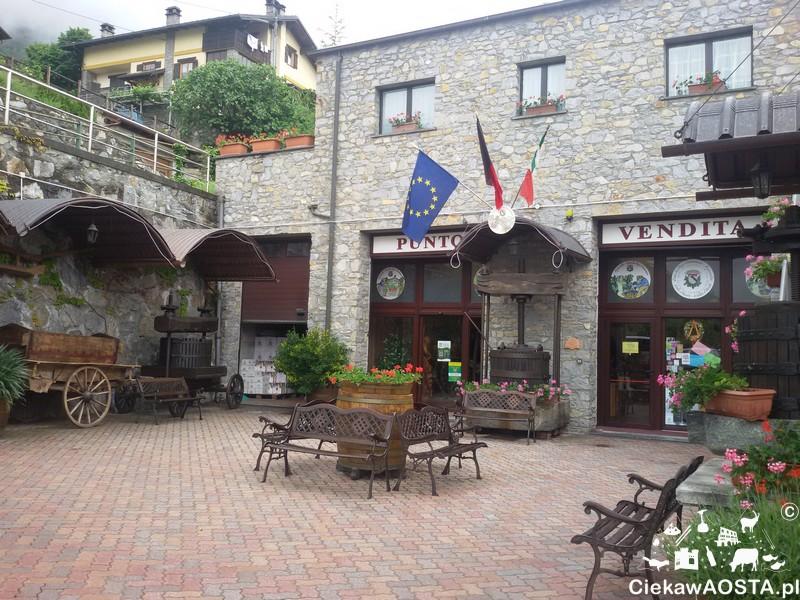 Siedziba producenta wina Cave des Onzes Communes.