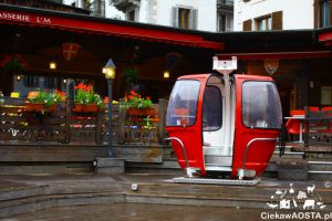 Jedna z Brasserie w centrum Chamonix.