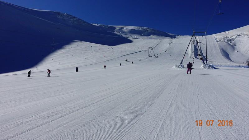 Świetna pogoda na narty! Cervinia!