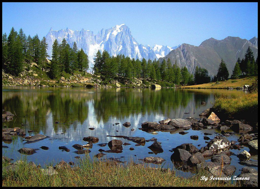 Jezioro Arpy. Zdjęcie licencja CC, źródło TU.